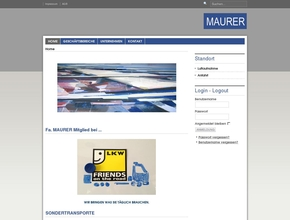 MAURER Spedition
