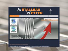 Metallbau-Wetter