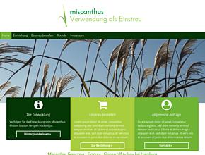 Miscanthus Giganteus | Einstreu | Chinaschilf Anbau | Hamburg | Hinrich Poppe