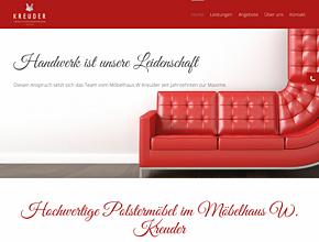Möbelhaus W. Kreuder - Raumausstattung, Polsterei & Wohnmobilpolster