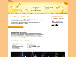 Multilightening LED
