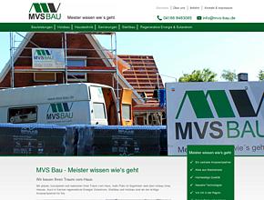 MVS Bau GbR   Regenerative Energien   Energetische Sanierung   Holz- / Stahlbau