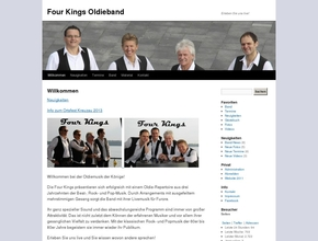 Oldieband - Four Kings