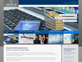 Online-Shop Buchhaltung -  Gebucht-HB