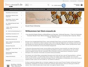 Online Shop Steinmosaik.de | Naturstein Mosaik-Fliesen, Wandverblender Teakholz & Bambus, Naturstein