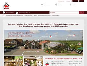 Onlineshop Obsthof Matthies