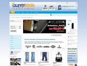 Outfitking E-Commerce