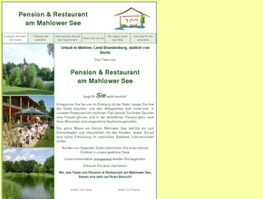 Pension & Restaurant am Mahlower See