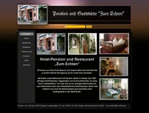 """Pension und Restaurant """"Zum Echten"""""""