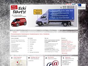 Personentransporte   Kleintransporte   Krankentransporte   Fest- u. Feierfahrten
