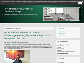 Physiotherapie Bochum, Physiotherapeut in Bochum, Physiotherapiezentrum Wellness