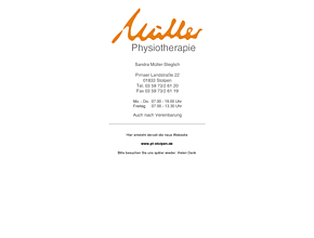 Physiotherapie Müller