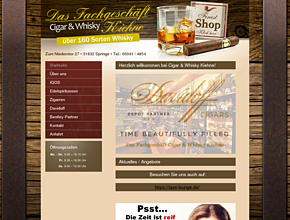Pipe, Cigar & Whisky Kiehne, Inhaberin: Kathrin Kiehne