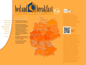 Privatzimmervermittlung bed and breakfast essen