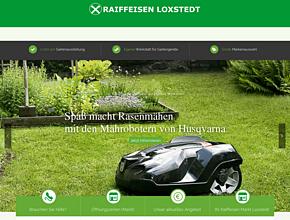 Raiffeisenmarkt Loxstedt | Baustoffe, Gartenmöbel, Gartengeräte, Baumarkt