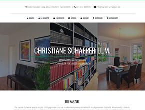 Rechtsanwältin und Notarin Christiane Schaeper LL. M. aus Stade
