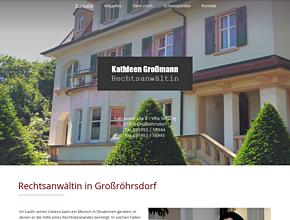 Rechtsanwältin Kathleen Großmann