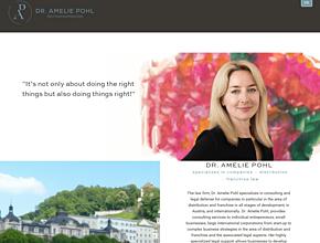 Rechtsanwaltskanzlei Dr. Amelie Pohl in Salzburg