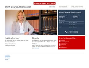 Rechtsanwaltskanzlei Wehrt-Sierwald Buxtehude | Stade