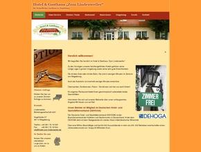 restaurant hotel zum lindenweiler. Black Bedroom Furniture Sets. Home Design Ideas