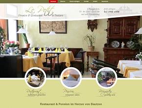 """Restaurant & Pension """"Le Petit"""" am ökumenischen Pilgerweg gelegen"""