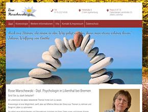 Rose Marschewski - Dipl. Psychologin - Kinesiologin