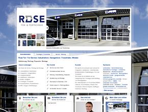 Rose Tür-/ Tor-Service | Industrietore | Garagentore | Torantriebe | Minden