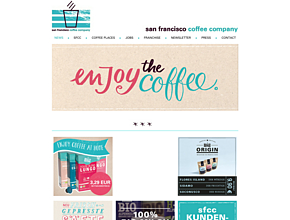 san francisco coffee company gmbh