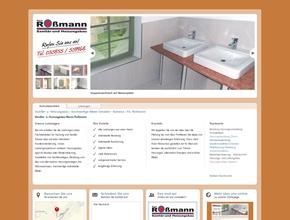 Sanitär- u. Heizungsbau | hochwertige Bäder Dresden - Kamenz | Fa. Roßmann