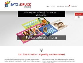 Satz & Druck Studio | Fahrzeugbeschriftung | Drucksachen | Werbeartikel