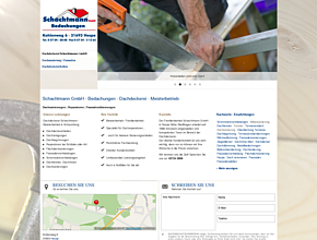 Schachtmann GmbH - Bedachungen - Dachdeckerei - Meisterbetrieb