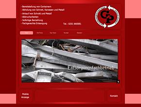 Schrottplatz - und Metallgroßhandel NRW