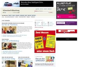 Schweriner Volkszeitung Anzeigen