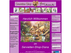 Servietten-Shop-Diana