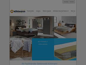 Sessel und Bettenwelt Köhlmann | Bettenfachgeschäft