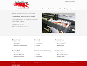Siebdruck Schneider I Schilder I Textildruck I Fahnen