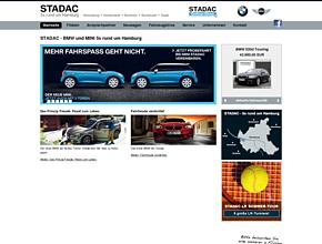 STADAC - BMW Autohaus 5x rund um Hamburg