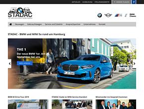 STADAC - BMW und Mini Autohaus 5x rund um Hamburg