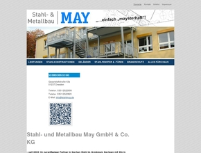Stahl & Metallbau May