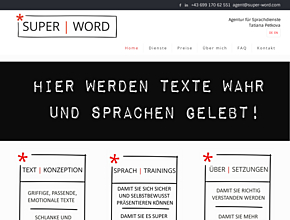 SUPER | WORD Agentur für Sprachdienste
