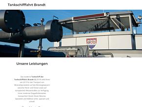 Tankschifffahrt Brandt