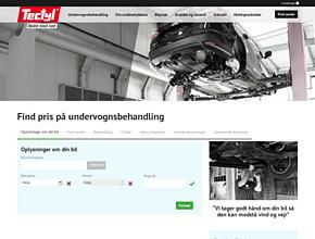 Tectyl undervognsbehandling Aarhus - Risskov - Gratis Rusttjek