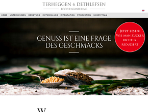 Terheggen & Dethlefsen - Food Engineering GmbH: Qualität, Innovation, Effizienz