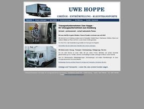 Transportunternehmen Uwe Hoppe | Ihr Umzugsunternehmen aus Duisburg