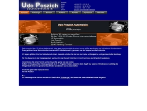 Udo Poszich Automobile