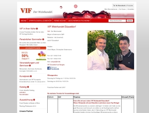 VIF WEINHANDEL: Weinladen, Weinkontor, Weinshop, Weinpräsente: Düsseldorf