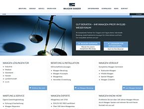 Waagenbau WAAGEN-SANDER GmbH | Wägetechnik | Waagen Zubehör | Hamburg - Stade