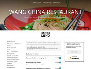 Wang China Restaurant Bringdienst & Partyservice