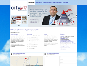 Onlinemarketing mit System - city-map Gotha