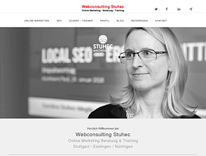 Webconsulting Stuhec, Online Marketing / Beratung / Training